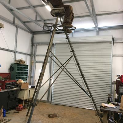 Deer Stand Ladder Repair
